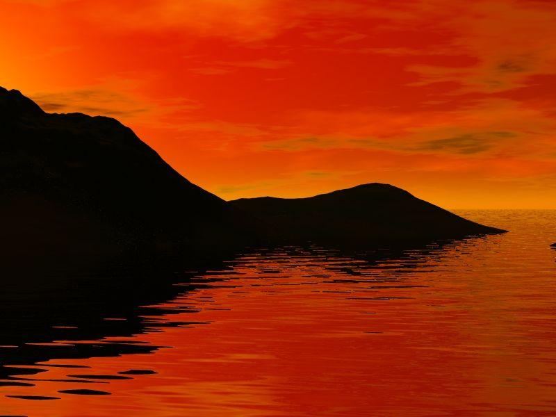 Coucher de soleil page 2 - Dessin coucher de soleil ...