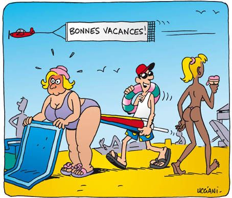 humour vacances